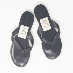COACH Shelly flip flop sandals